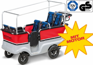 Winther E-Turtle Kinderbus Basic für 6 Kinder -